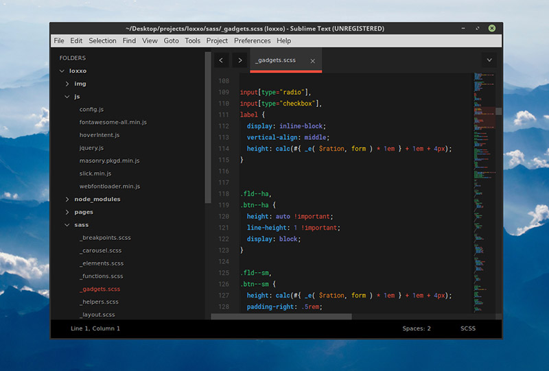 Brogrammer Theme for Sublime Text