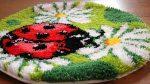 Ковровая техника вышивания – Полный урок по вышивке в ковровой технике