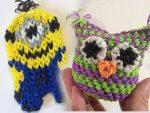 Плетение из резинок фигурки для начинающих – фигурки для начинающих на рогатке и на станке с фото