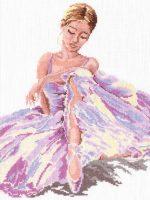 Балерина вышивка – Наборы для рукоделия и вышивания из коллекции «Балерины»
