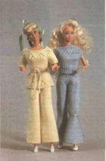 Как связать брюки для барби спицами – Штаны для куклы Как связать штаны для куклы Барби