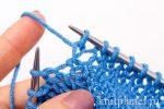 Как вязать перекрещенные петли спицами – Как вязать скрещенные петли спицами