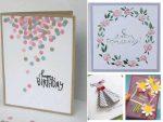 Открытка с днем рождения из цветной бумаги – Как сделать открытку на день рождения? Много идей своими руками