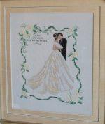 Свадебная вышивка крестом схемы – скачать бесплатно без регистрации, букеты для открыток, наборы и тематика